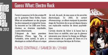 Guess What : Electro Rock